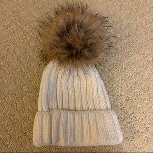 Giant Pom Pom Hat